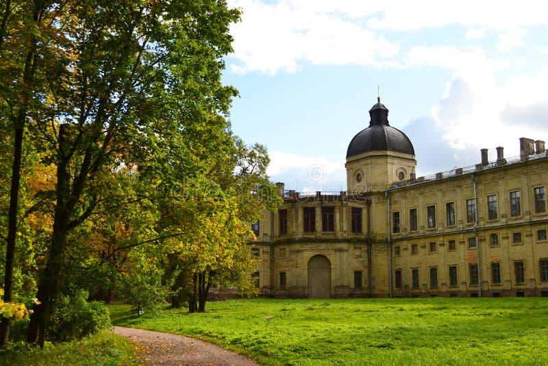 Il palazzo di Gatchina immagini stock