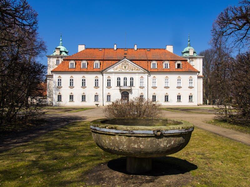 Il palazzo di Nieborow, Polonia fotografie stock libere da diritti