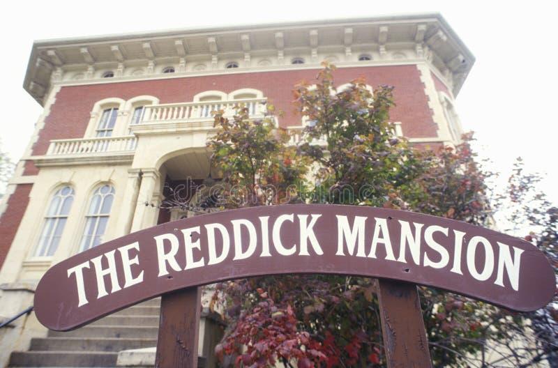 Il palazzo di Reddick, Ottawa, Illinois fotografia stock libera da diritti