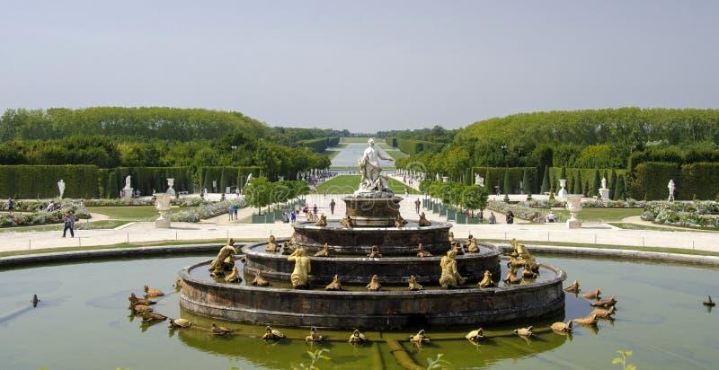 Versailles a Parigi, Francia immagini stock
