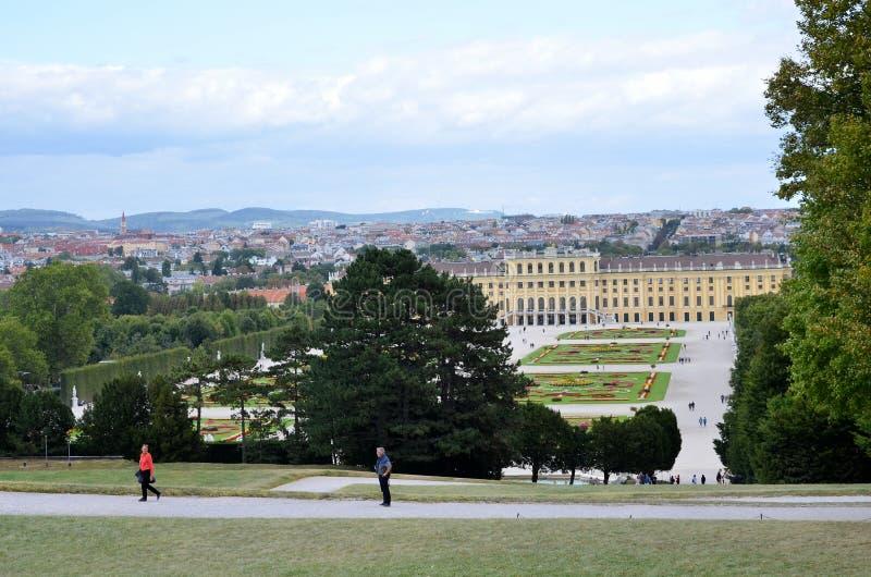 Il palazzo imperiale a Vienna fotografia stock libera da diritti