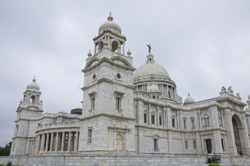 Il palazzo in India a Calcutta Victoria Memorial Hall immagini stock