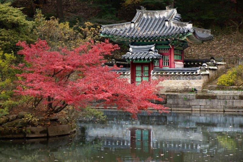 Il palazzo reale a Seoul fotografia stock