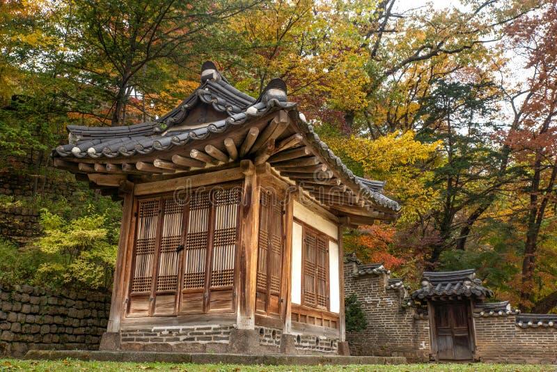 Il palazzo reale a Seoul immagini stock