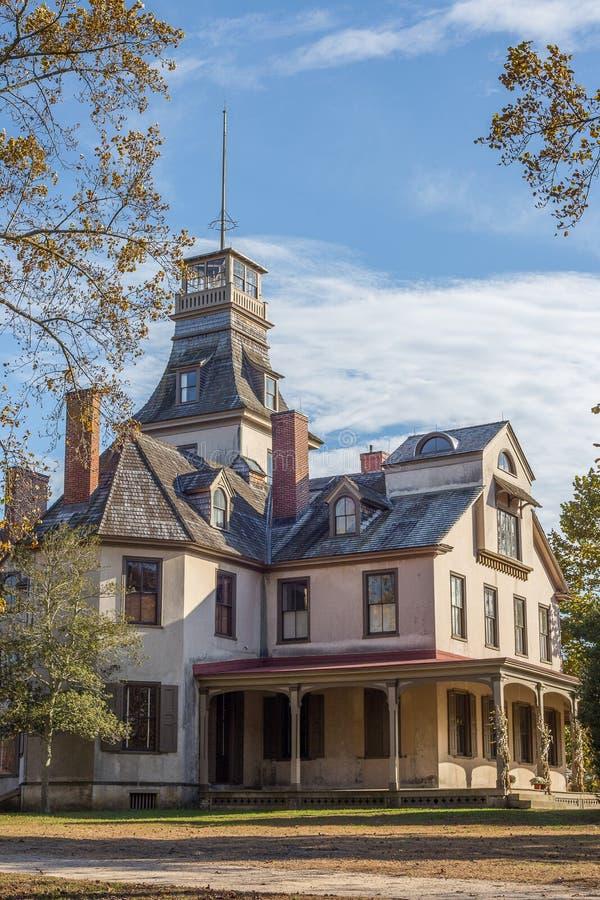 Il palazzo, villaggio di Batsto, New Jersey immagini stock