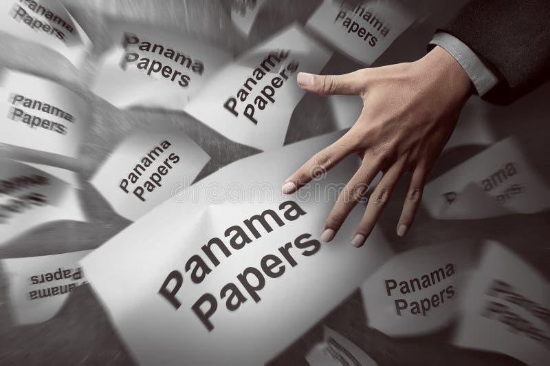 Il Panama incarta il concetto immagini stock libere da diritti