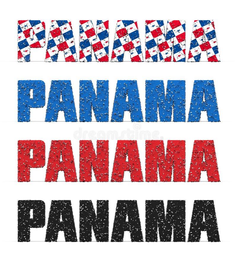 Il Panama incarta lo scandalo immagini stock libere da diritti