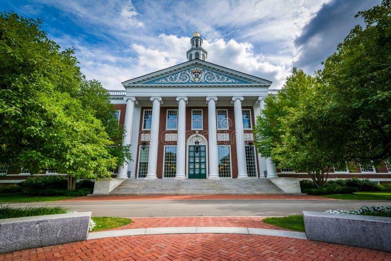 Il panettiere Library, alla scuola di Harvard Business, a Boston, Massac fotografie stock