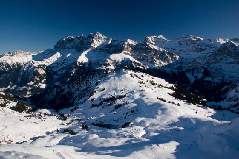 Il panorama ammacca il du Midi immagini stock libere da diritti