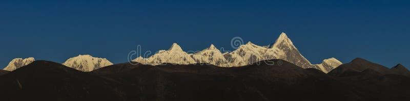 Il panorama di Namjagbrawa fotografie stock libere da diritti