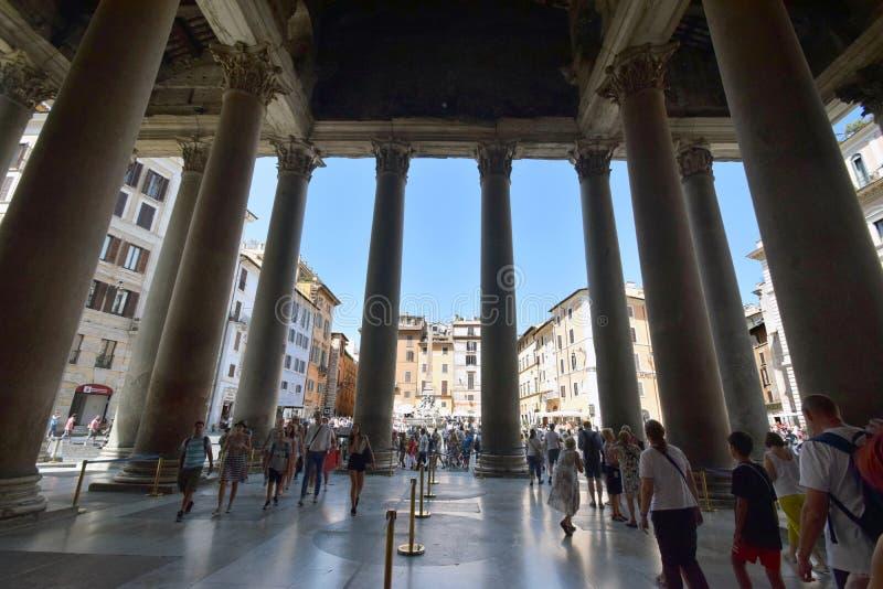 Il panteon, Roma fotografia stock