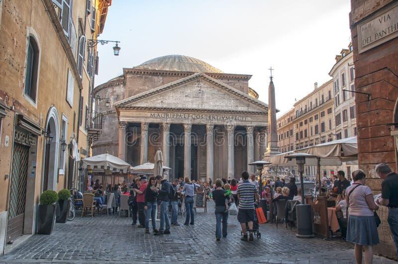 Il panteon, Roma immagine stock libera da diritti