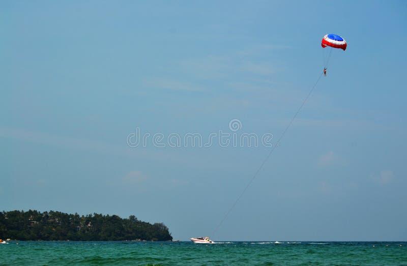 Il paracadutista fotografie stock libere da diritti