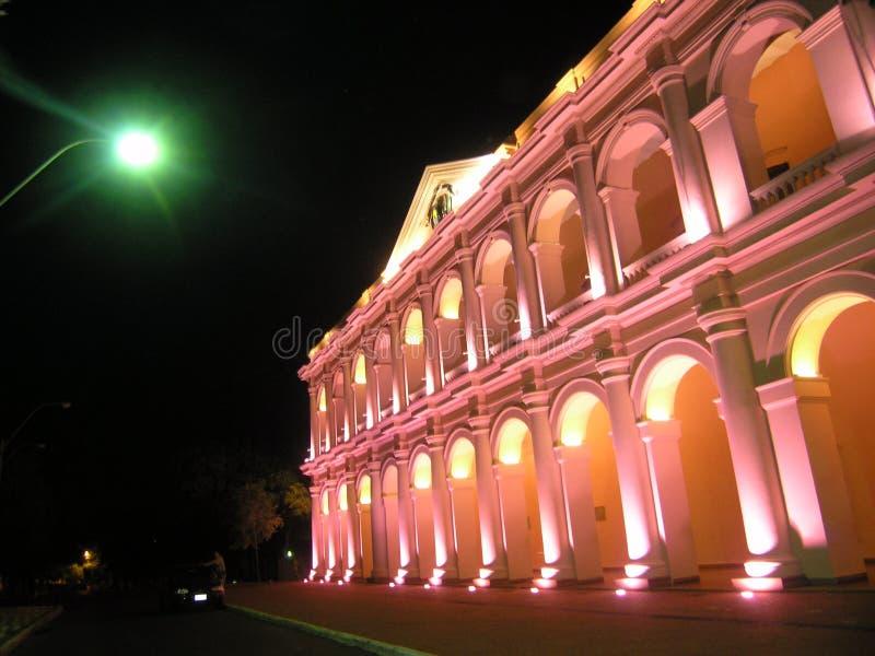 Il Paraguay - Camara de Senadores fotografia stock