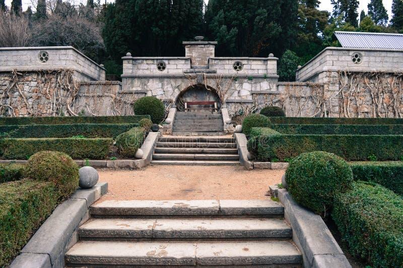 il parco della proprietà di Kharaks è verso la fine di stile moderno immagine stock libera da diritti