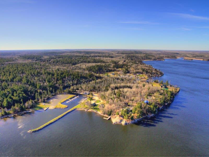 Il parco nazionale di Voyageurs è il NP isolato nel Minnesota del Nord immagine stock libera da diritti