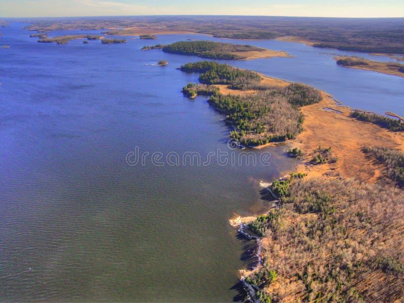Il parco nazionale di Voyageurs è il NP nel Minnesota del Nord fotografia stock libera da diritti