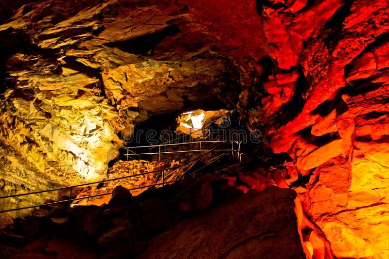 Caverna mastodontica immagini stock libere da diritti