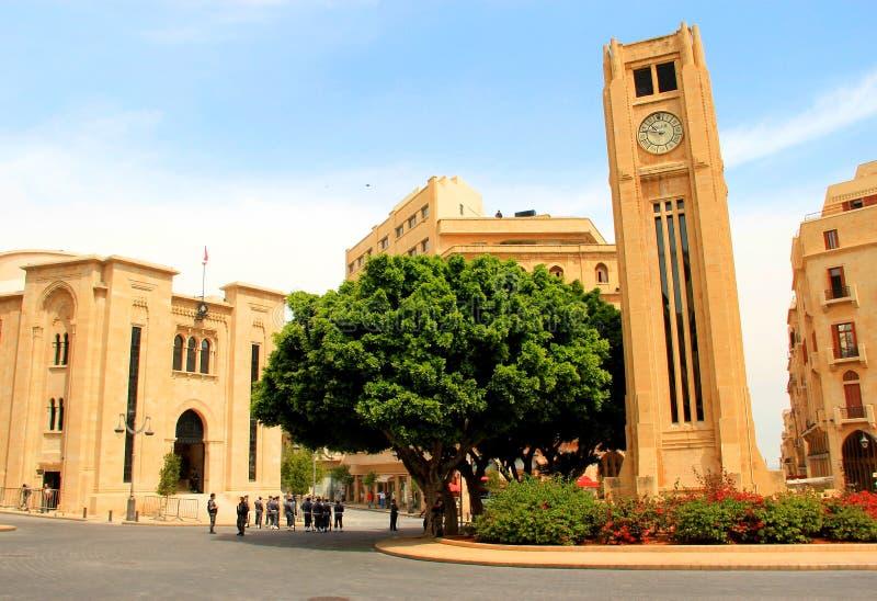 Il Parlamento a Beirut fotografie stock libere da diritti