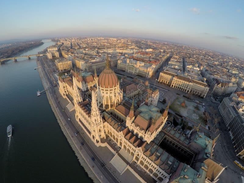 Il Parlamento a Budapest fotografie stock
