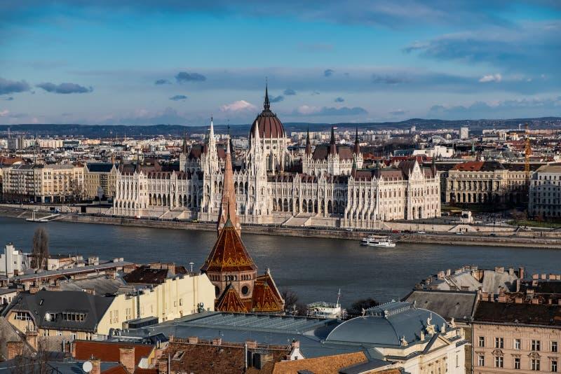 il Parlamento a Budapest, Ungheria immagini stock