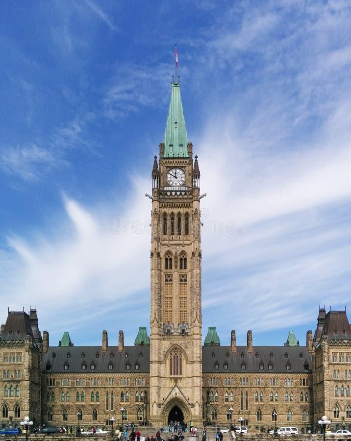 Il Parlamento del Canada immagine stock libera da diritti