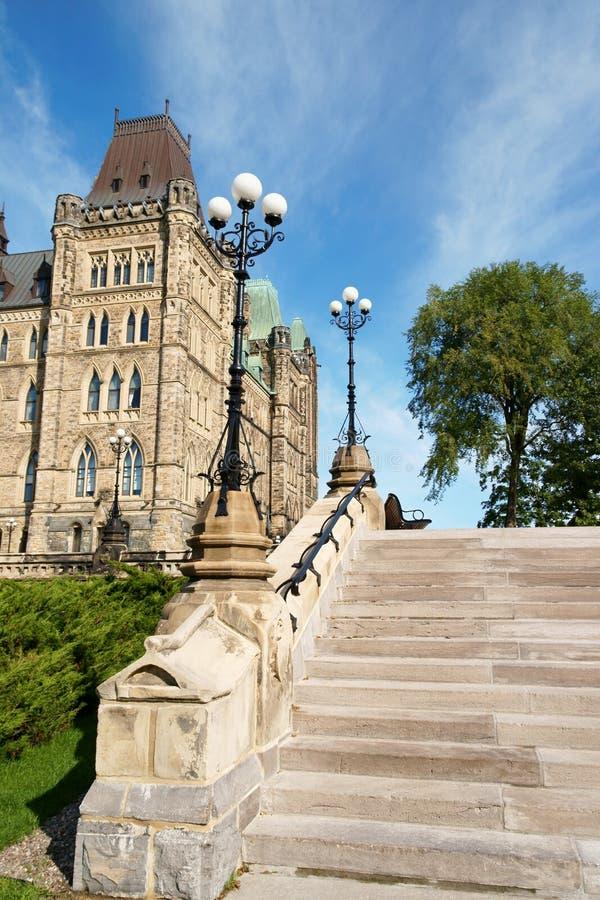 Il Parlamento del Canada in Ottawa fotografia stock