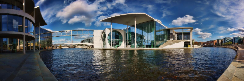 Il Parlamento di ders-Haus del ½ del ¿ di Berlin Marie-Elisabeth-Lï fotografia stock
