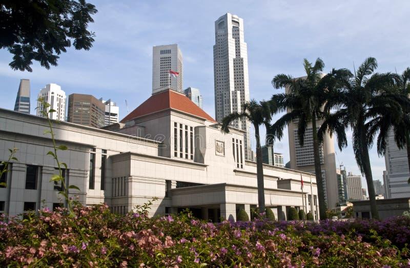 Il Parlamento di Singapore alloggia fotografia stock