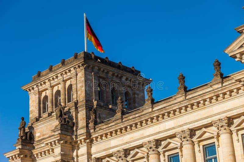 Il Parlamento federale tedesco (Reichstag) fotografie stock