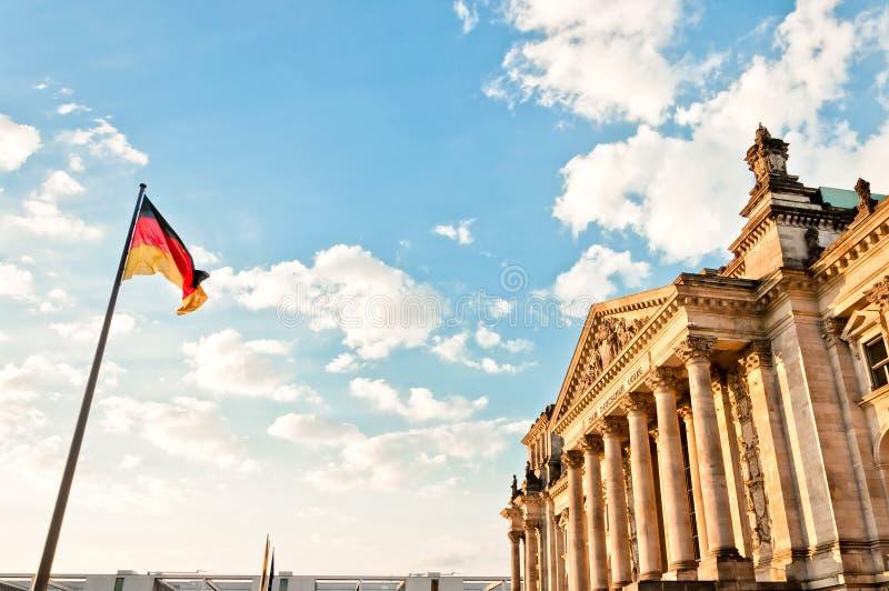 Il Parlamento o Bundestag tedesco a Berlino immagini stock
