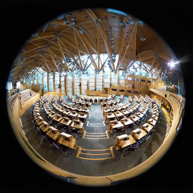 Il Parlamento scozzese fotografia stock libera da diritti