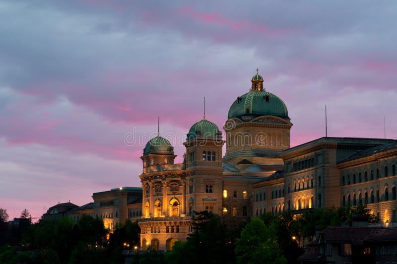 Il Parlamento svizzero fotografia stock libera da diritti