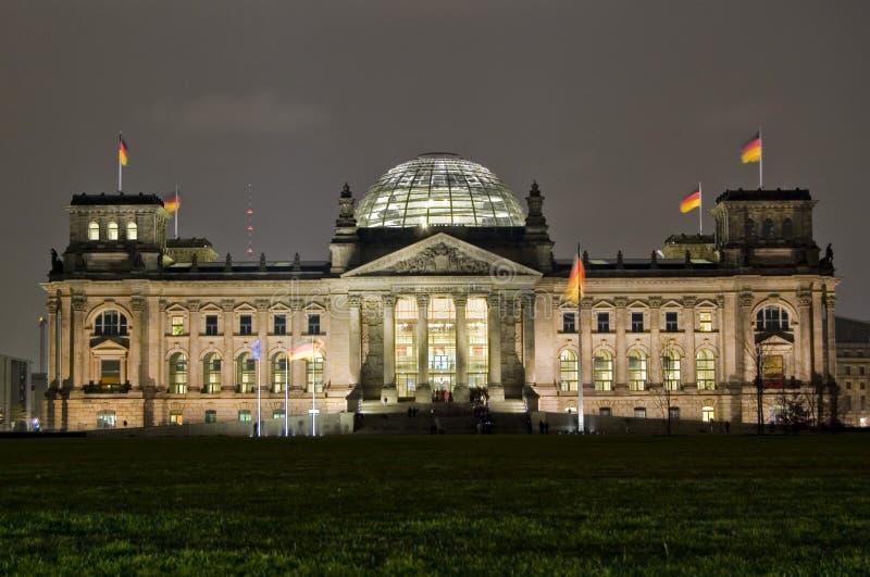 Il Parlamento tedesco, Reichstag, Berlino immagine stock libera da diritti