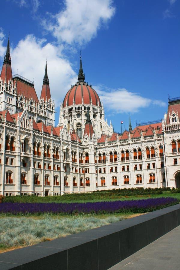 Il Parlamento ungherese di BuildingThe del Parlamento di Budapest immagini stock