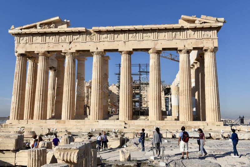 Il Partenone immagini stock