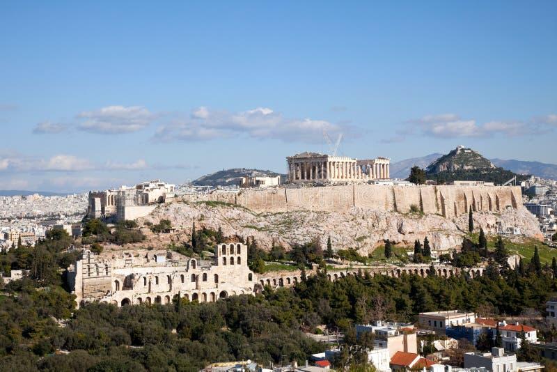 Il Parthenon.Acropolis. fotografie stock libere da diritti