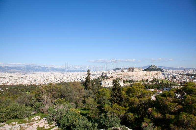 Il Parthenon.Acropolis. immagini stock libere da diritti