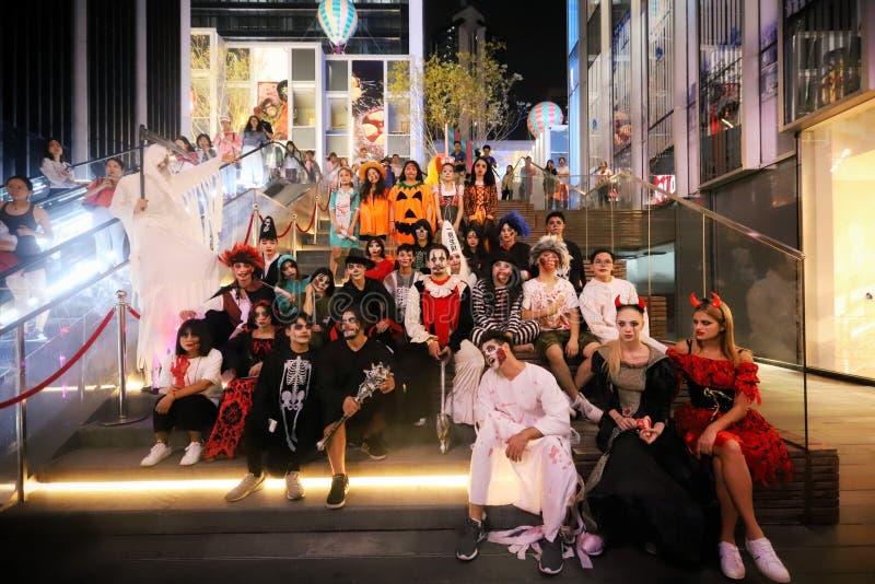 Il partito di Halloween immagine stock libera da diritti