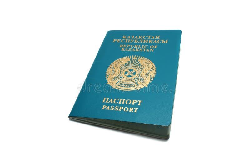 Il passaporto del Republic Of Kazakhstan. immagine stock