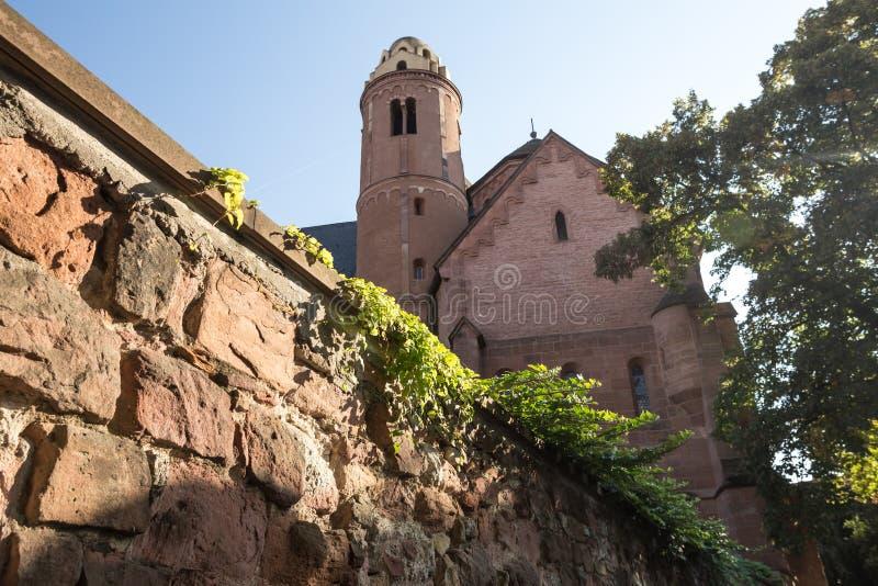 Il paulus monastry domenicano della st worms la Germania immagini stock