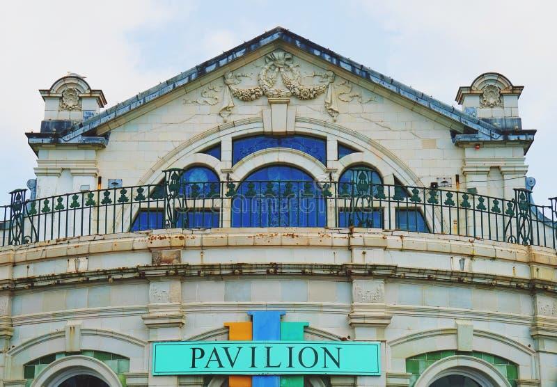 Il Pavillion a Torquay fotografia stock libera da diritti