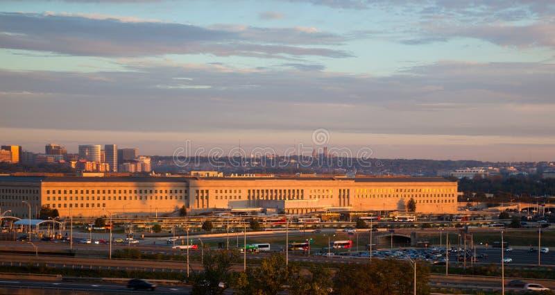 Il Pentagon fotografia stock