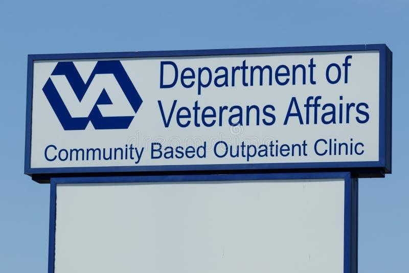 Il Perù - circa maggio 2018: Ambulatorio di affari dei veterani Per portare la sanità più vicino ai veterani, il VA sta aprendo l fotografia stock