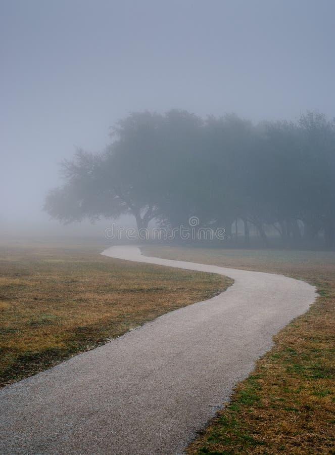 Il percorso? di amore - piedi a forma di con i cuori fotografia stock