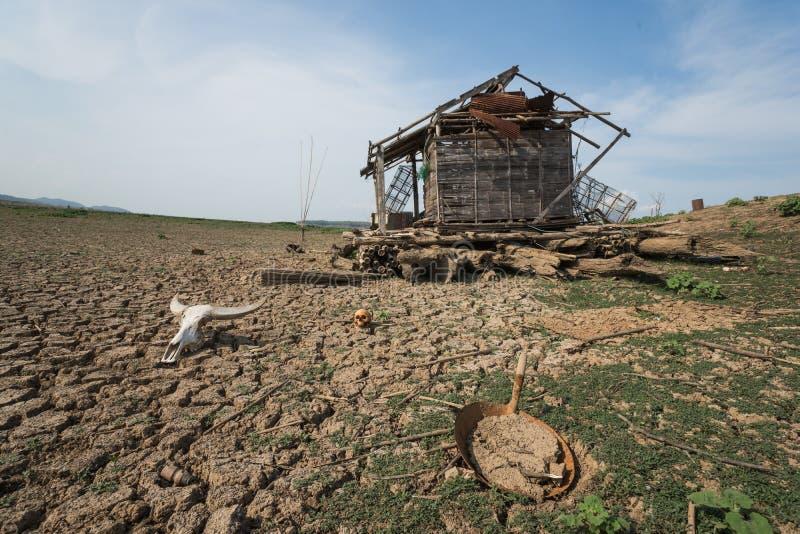 Il pericolo di riscaldamento globale del mutamento climatico fotografie stock libere da diritti