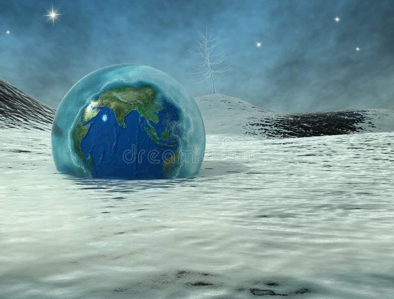 Il periodo di glaciazione 2 illustrazione di stock