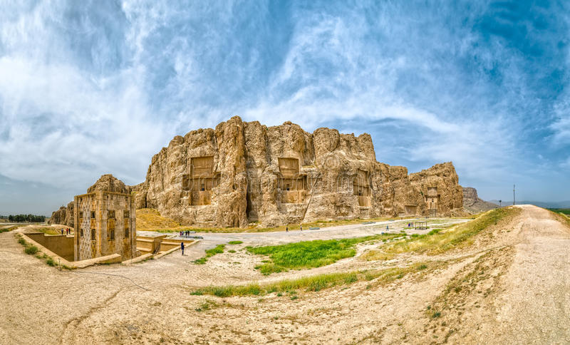 Il persiano attraversa il panorama immagini stock libere da diritti