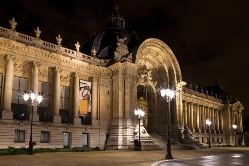 Il Petit Palais a Parigi. fotografie stock libere da diritti