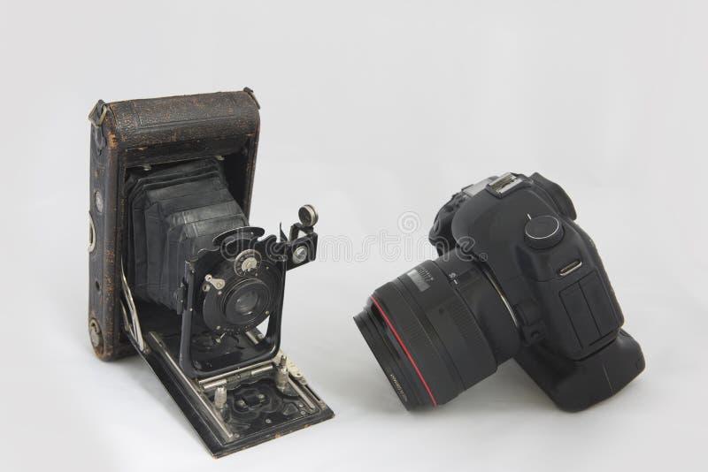 Il più vecchio ed il più nuovo fotografia stock